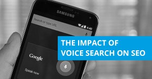 voice search on SEO image